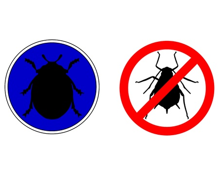 aphid: Aphid ladybird traffic signs