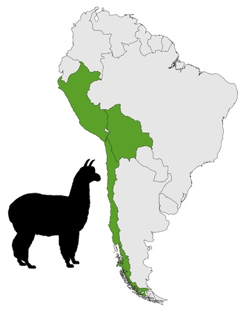 alpaca: Alpaca range map
