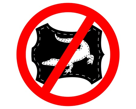 No crocodile leather Stock Vector - 9492106