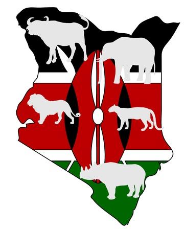 big five: Kenya cinque grandi