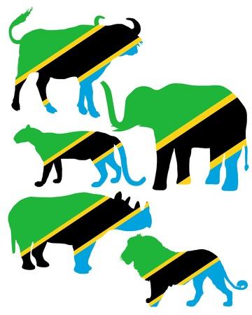 big five: Big Five Tanzania