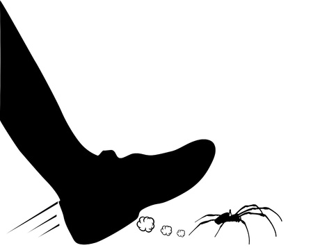 footware: Spider hunting