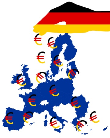 Subsidies from Germany Vector