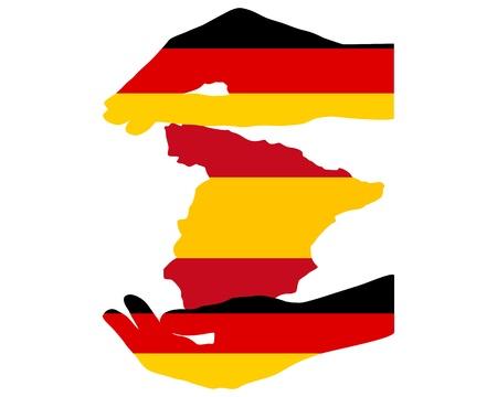 financial emergency: German Help for Spain