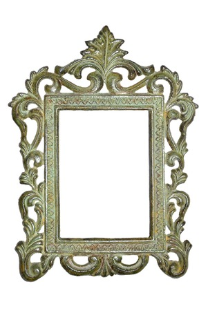 tarnished: Ancient picture frame