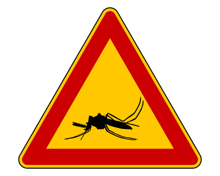Midge warning sign photo