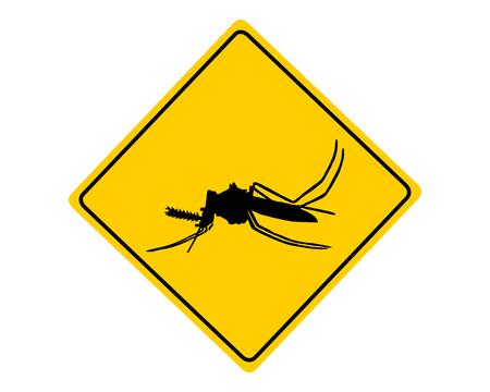 anopheles: Midge warning sign