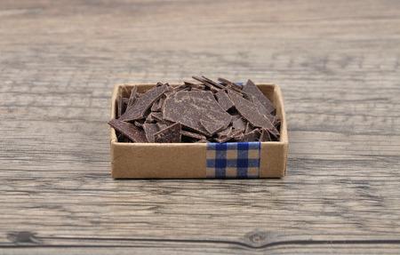 Chocolate bits photo