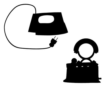 flat iron: Flat iron