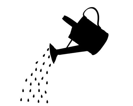 ewer: Watering pot Stock Photo
