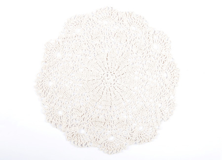 Crochet doily Banco de Imagens