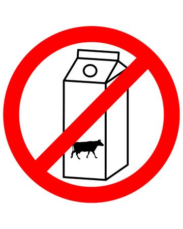 Sugar free milk Vettoriali