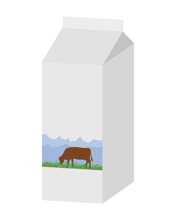 milk carton: Milk carton