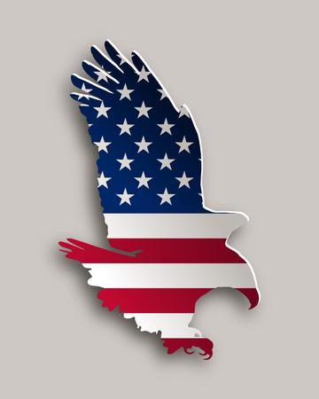 bold: Bold eagle Illustration