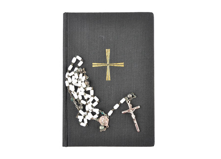 chaplet: Prayer book with chaplet
