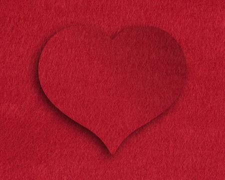 felt: Heart of felt