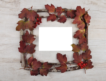 felicitation: Wooden frame