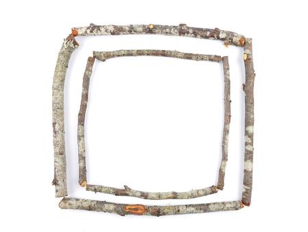 passepartout: Wooden frame