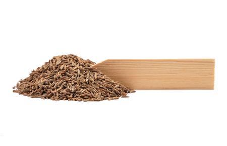 caraway: Caraway seeds on plate