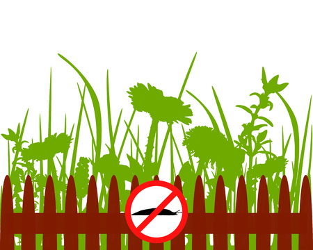 herbage: Traffic signs for slugs