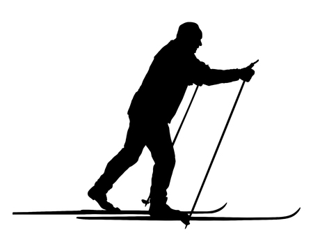 nordic ski: Nordic skier