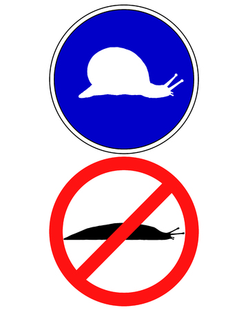 vermin: Traffic signs for slugs