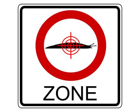 slug: Slug hunting zone Illustration