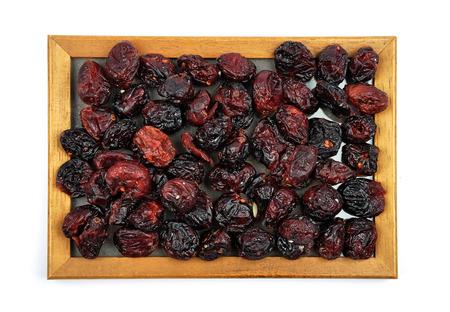 arandanos rojos: Arándanos secos en marco