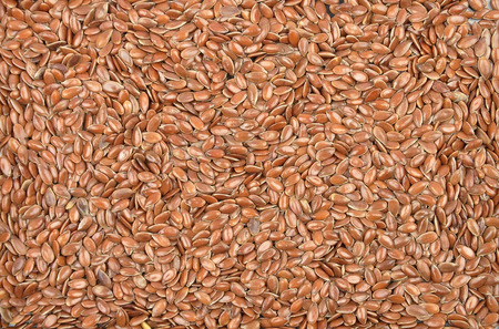 purgative: Flax seed Stock Photo
