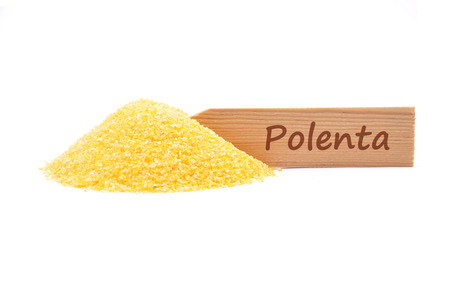 describable: Polenta at plate