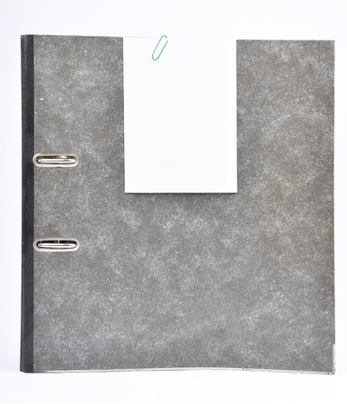 describable: Ring binder with memo