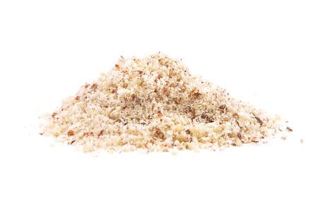 Hazelnuts powdered