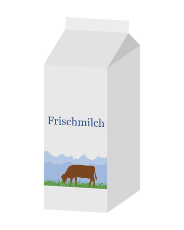 carton de leche: Bio cart�n de leche