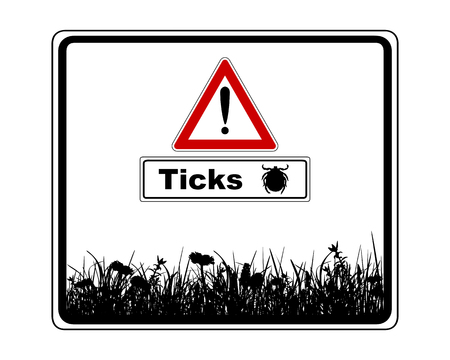 are added: Warning sign with added information ticks