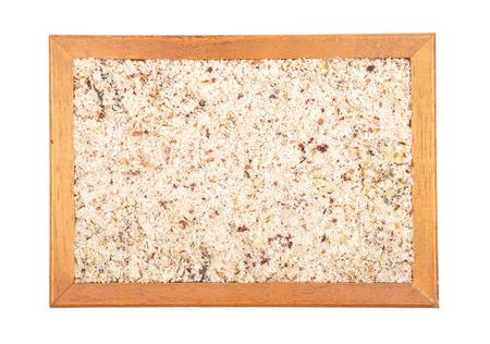 cobnut: Hazelnuts powdered
