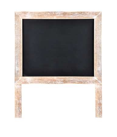 Chalkboard with frame and wooden stand