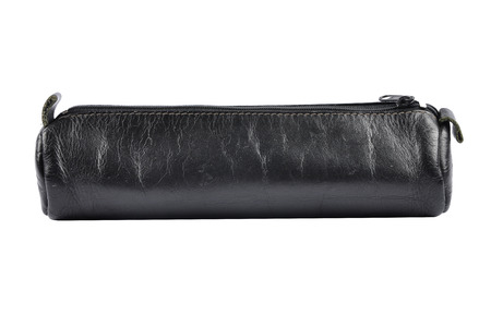 Pencil case on white background Banco de Imagens
