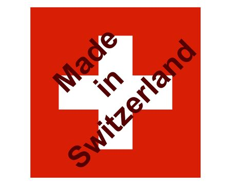 Quality seal made in Switzerland
