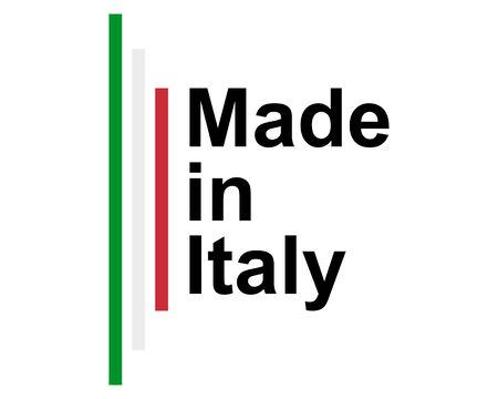 Quality seal made in Italy