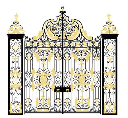 Kensington palace gate home of Duke and Duchess of Cambridge