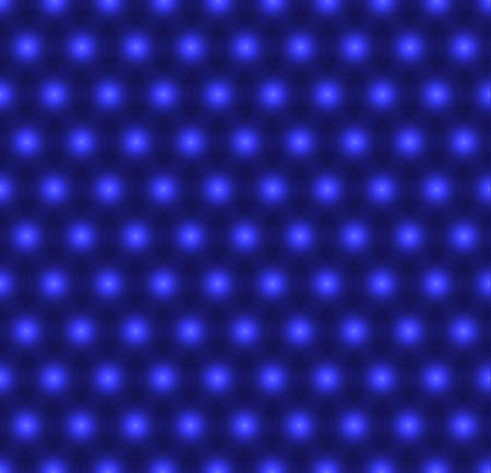 Blue balls, seamless flowers, periodic vector background. Ilustração
