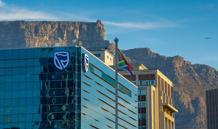 Standard Bank Building in Cape Town