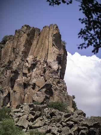 clifface in Cappadocia on a hike