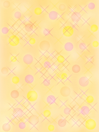 Abstract holiday background in warm colors with geometric elements Stock Photo - 16564369