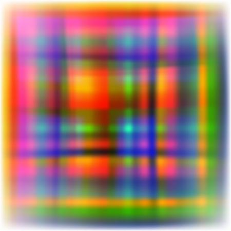 Background of different color tartan