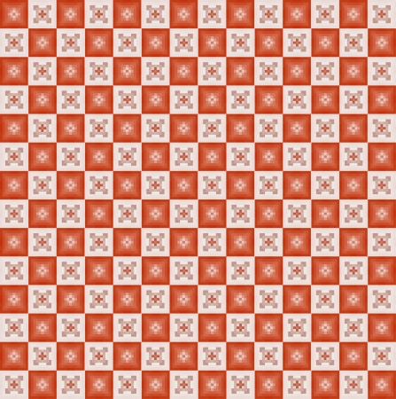 Geometric pixel pattern. Vinage. Seamless Vector