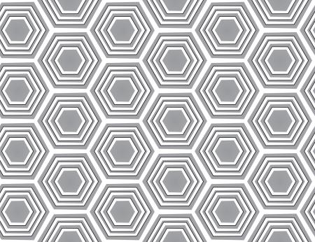 Gray  seamless geometric texture. Vector background Illustration