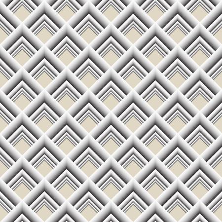 Gray geometric seamless texture Illustration