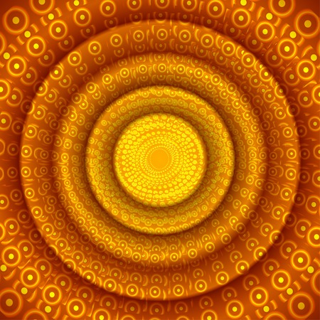 Abstract circle orange background for design
