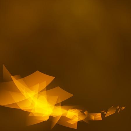 Creative dynamic element, light lines